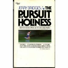 The Pursuit of Holiness (A Navigator Book) by Jerry Bridges