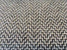 Schumacher Woven Chevron Zig Zag Upholstery Fabric Orwell Graphite 5.15 yd 69821