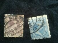 lot N°117 2 timbres ESPAGNE années 20 Fernando Poo