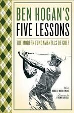 Ben Hogan's Five (5) Lessons The Modern Fundamentals of Golf FREE SHIPPING book