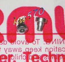 Formula - 2 viti acciaio SILVER originali x fiss.leve TheOne/R1/T1/RO FD-V158-10