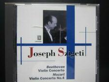 Szigeti: Beethoven + Mozart - Violin Concertos (Opus kura)