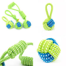 Pet Braided Cotton Rope Dog Interactive Toys for Dogs Chews Bite Play Training