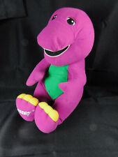 Vintage Barney Dinosaur 1996 Playskool Talking Plush Stuffed Toy Tested -Works!