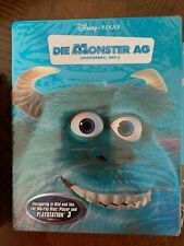 Disney Pixar's MONSTERS INC. Bluray Steelbook German Release New Sealed
