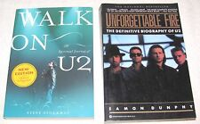 2-Books On U2-Walk On U2 And Unforgettable Fire