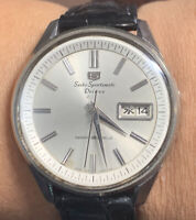 1965 Seiko 5 Sportsmatic Deluxe Automatic Vintage Mens Watch