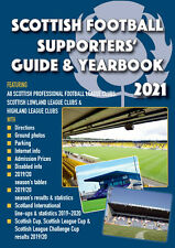 Scottish Football Supporters' Guide & Yearbook 2021 - Scotland SPFL Soccer book