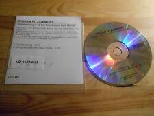 CD Pop William Fitzsimmons - Good Morning (2 Song ) MCD GRÖNLAND
