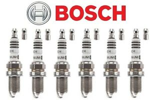 NEW BOSCH PLATINUM SPARK PLUG 4003 SET OF 6 FOR MULTIPLE APPLICATIONS