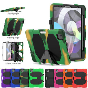 Heavy Duty Stand Armor Case Cover For iPad Air 4 10.9'' 2020 Tablet Shockproof