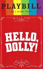 """Bette Midler """"HELLO DOLLY"""" David Hyde Pierce / Gay Pride Cover 2017 Playbill"""
