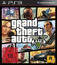 PS3/Sony Playstation 3 Juego-Grand Theft Auto V/GTA 5 en/ger en Caja