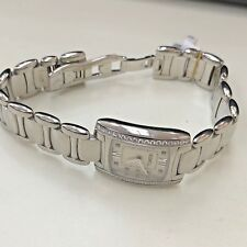 Ebel Brasilia Stainless Diamond Watch Diamond Mother-of-Pearl Dial A124522