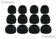12pcs (ALL-B)  4S / 4M / 4L Replacement Adapter Eartips for Sennheiser Earphones