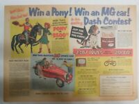 Dash Dog Food Ad: Name Puppy Win MG Car Contest ! from 1949 Size: 11 x 15 inches