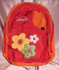 NEW ~ Orange Flower Kiddie Bag Back Pack Drink Bottle ~ Little Beetle ~ GIFT