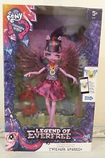 MY LITTLE PONY EQUESTRIA DOLL TWILIGHT SPARKLE LEGEND OF EVERFREE CRYSTAL WINGS