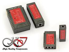 Testeur de continuité pour cable réseau RJ11 RJ45 - Avec simulation activité !