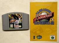 Ken Griffey Jr. - Major League Baseball w/Manual N64 (Super Nintendo, 1994)