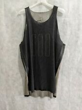 Adidas Day One Ss17 Singlet Black Brown Jersey Tank Top