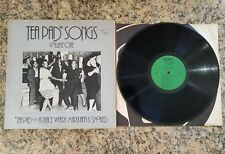 TEA PAD SONGS VOL. 1, TEA PAD-A PLACE WHERE MARIJUANA IS SMOKED LP, 1930's-1940s