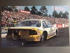 1990 Bruce Allen Levi Garrett Chevrolet NHRA Pro Stock Print Picture Poster RARE