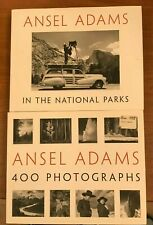 Lot of 2, Ansel Adams: 400 Photographs, In The National Parks, HC/DJ