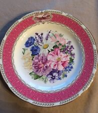 The Royal Horticultural Society The 1987 Chelsea Flower Show Plate Wedgwood