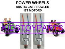 2 New 12 Volt Power Wheels Motor s Electric 17t ARCTIC CAT CRUISER