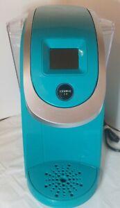 KEURIG K200 Series 2.0 Single Serve Coffee Maker OASIS TEAL TESTED WORKS GREAT
