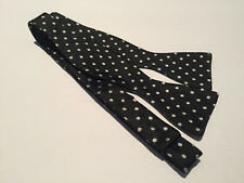Rugby Ralph Lauren  Bow Tie Black Dots Italy New