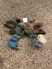 TY Beanie Baby 1996 CLAUDE the Crab NWTP.V.C Pellets