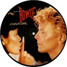 """EX! DAVID BOWIE CHINA GIRL 7"""" VINYL PICTURE PIC DISC"""