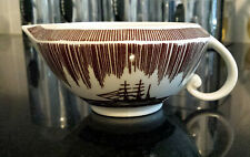 ROCKWELL KENT Vernon Kilns MOBY DICK - RARE Brown Creamer - MINT Condition