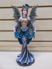 WFU-13 STEAMPUNK FAIRY GEAR WINGS EVERSPRING STATUE DECORATION