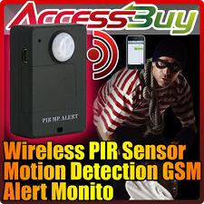 AMBIENTALE MICROSPIA GSM PIR SENSORE INFRAROSSI VOLUMETRICO  PIR ALARM SPY  SPIA