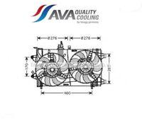FT7561-G Ventola, Raffreddamento motore (AVA)