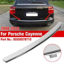 For Porsche Cayenne 2008-2010 Electroplated Rear Bumper Trim Plate 95550578710