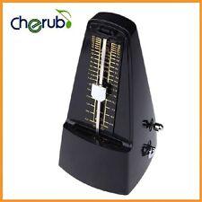 Cherub WSM-330 Metronome Winding Mechanism Universal for Guitar Violin Black