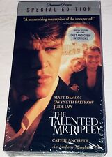 The Talented Mr. Ripley (Vhs, 2001, Special Edition) Cate Blanchett 44T