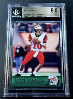 TOM BRADY 2000 PACIFIC #403 ROOKIE RC BGS 9.5 FUTURE HALL OF FAMER