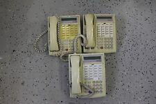 LOT OF 3 Avaya / Lucent Partner 18D Phone for  ACS Telephone System  WHITE
