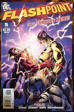 Flashpoint #5 (DC,2011) Reverse Flash 1st Pandora HIGH GRADE!! (NM)