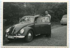Orig. Foto AUTO VW Käfer u. Front LLOYD LT 600  50er Ja.
