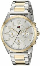 Tommy Hilfiger Original 1781607 Womens Two Tone Stainless Steel Watch 36mm