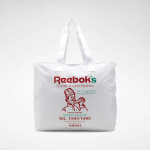 Reebok Classic Graphic Food Tote Bag White RRP £50 Brand New ED1273 UNISEX