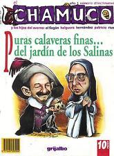 EL CHAMUCO MEXICAN MAGAZINE NO. 19 PURAS CALAVERAS FINAS DL JARDIN D LOS SALINAS