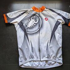 Castelli Men's Road Cycling Jersey, Short Sleeve, Summer, Full Zip