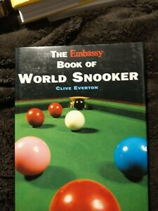 The Embassy Book Of World Snooker By Clive Everton.